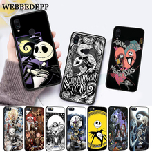WEBBEDEPP Jack Skellington Silicone Case for Xiaomi Redmi Note 4X 5 6 7 Pro 5A  Prime все цены