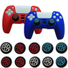 2/4Pcs Controller Thumb Silicone Stick Grip Cap Cover For PS5 PS4 XBOX One/360/series X Switch Pro Controllers Game Accessories