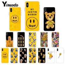 Yinuoda Drew House Justin Bieber Soft Silicone TPU Phone Cover for iPhone 8 7 6 6S X XS MAX 5 5S SE XR 10 11 Pro Max(China)
