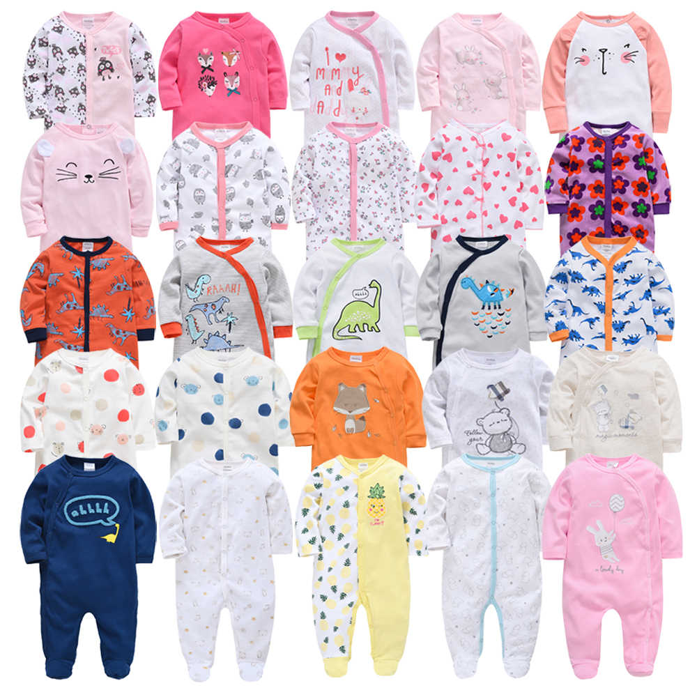 Honeyzone Romper 2020 New Baby Girls Rompers Cotton Long Sleeve Newborn Baby Boys Clothes One Piece Roupa bebe Baby Costume