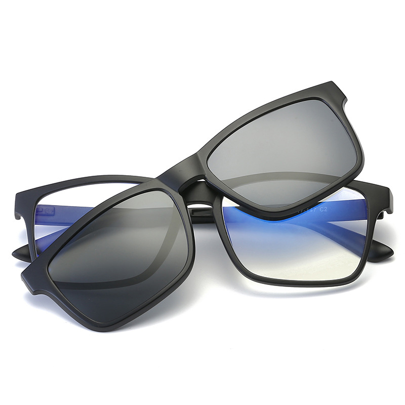 Поляризованные солнцезащитные очки на застежке для мужчин и женщин, солнцезащитные очки на магнитной застежке, очки для ночного видения
