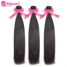 Weave Bundles Hair Alipearl-Hair Deal Straight 30-Inches Peruvian 24 10 12-14 16-18-20-22