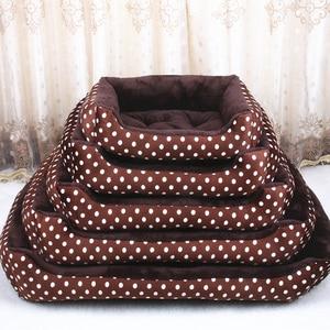 Image 4 - Lits pour animal de compagnie, pour grands chiens et petits chiots, matelas chaud et doux, canapé, lavable, matelas de couchage, grande taille XXL
