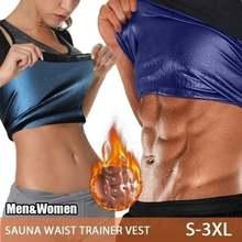 Gilet amincissant en néoprène pour hommes et femmes, gilet de Sauna, modelant le corps, entraîneur de taille, Corset de brunissage des graisses pour femmes, vêtements de mise en forme pour la perte de poids