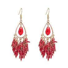 European and American popular friends first lady temperament fashion earrings adorn article