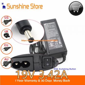 Oryginalne FSP 19V 3 42A 65W Adapter 40014219 FSP065-RHC DA-65C19 dla ASUS X555U do projektora Benq DH2100 40022941 FSP065-ASC obsługi Medion Akoya E7216 tanie i dobre opinie viknight CN (pochodzenie) 19 v Uniwersalny US EU UK AU