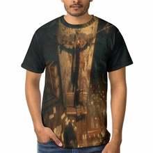 Bioshoick T Shirt Infinite Elizabeth And Big Daddy T-Shirt Print Short Sleeve Tee Shirt Oversized Cute Casual Men t shirt