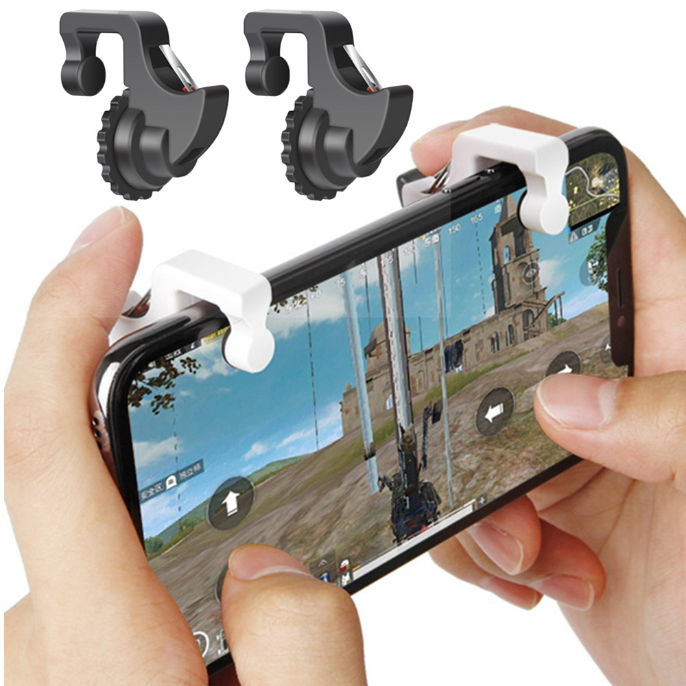 Universal Mobile Phone Game Controller Shooter Trigger Fire Button L1 Rl Game Operation For IPhone Android Phone Game Accessorie