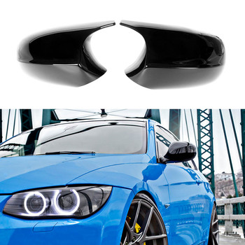 M3 Look Painted Glossy Mirror Cover For BMW 3 Series E90 E91 2008-2011 E92 E93 LCL 2010-2013
