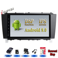 Android 9.0 DSP IPS 2 DIN Car DVD GPS For Mercedes/Benz W203 W209 W219 W169 A160 C180 C200 C230 C240 CLK200 CLK22 radio stereo