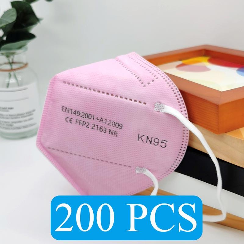 Pink 200 PCS