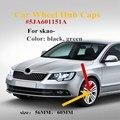 Колпачки на ступицу колеса 4 шт./лот 56 мм 60 мм 65 мм, Центральная Крышка для Skoda Octavia Fabia Superb Rapid Yeti 5JA601151A