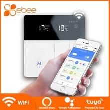 Ebee Tuya Wifi Slimme Thermostaat Temperatuur Controller Voor Gas Boiler Verwarming Werkt Met Google Home Alexa