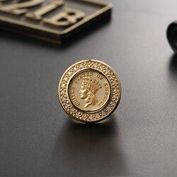 The Irishman Ring Pure 18K solidne żółte białe złoto naturalne diamentowe sygnety dla mężczyzn Vintage Movie biżuteria darmowe grawerowanie
