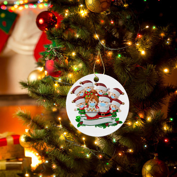2020 Christmas Ornaments Hanging Decoration Gift Product Personalized Family Christmas ornaments Рождественские украшения image