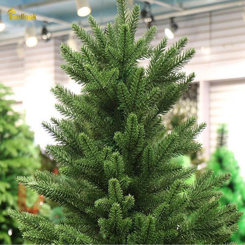 Teellook 1,2 m/3,6 m PE verschlüsselung Weihnachten baum Weihnachten Hotel shopping mall hause dekoration ornamente - 2