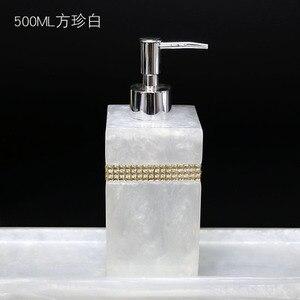 Image 2 - 400ml, 500ml, 800ml Resin European Shower Gel Soap Dispenser Lotion Bottle Hand Sanitizer Shampoo Moisture Press bottle