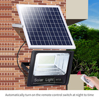 Solar light outdoor garden light super bright human body induction flood light street light NEW