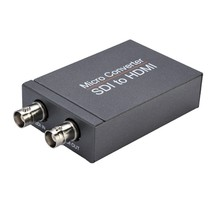 SDI to HDMI Mini 3G HD SD-SDI Video Mini Converter Adapter with Audio Auto Format Detection for Camera(China)