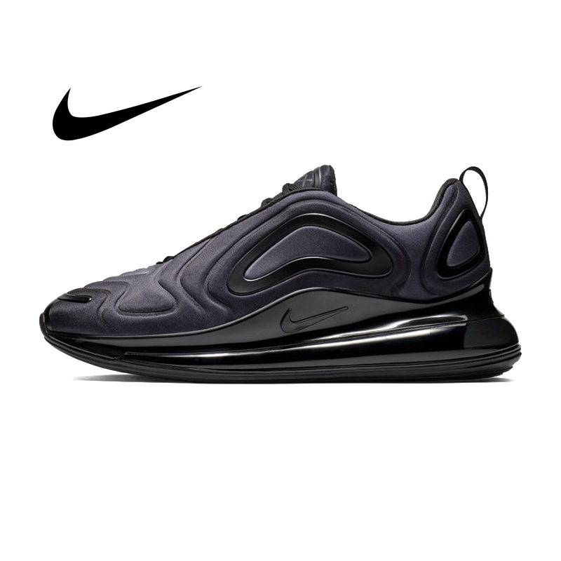 Original Nike Air Max 720 Men's Running Shoes Breathable Sneakers Shock absorbing Comfortable Light Outdoor Jogging AO2924 004