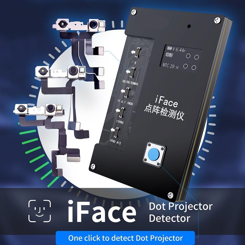 iFace Dot Projector Detector for Phone X XS Xr Xsmax 11 11Pro iPad A12 Repair Programmer Face ID Fault Detecting