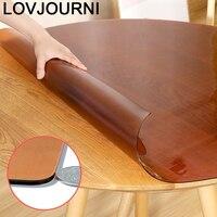 Plastique Tischdecke Wedding Waterproof Tovaglie Round Mantel Redondo PVC Tablecloth Cover Nappe Toalha De Mesa Table Cloth