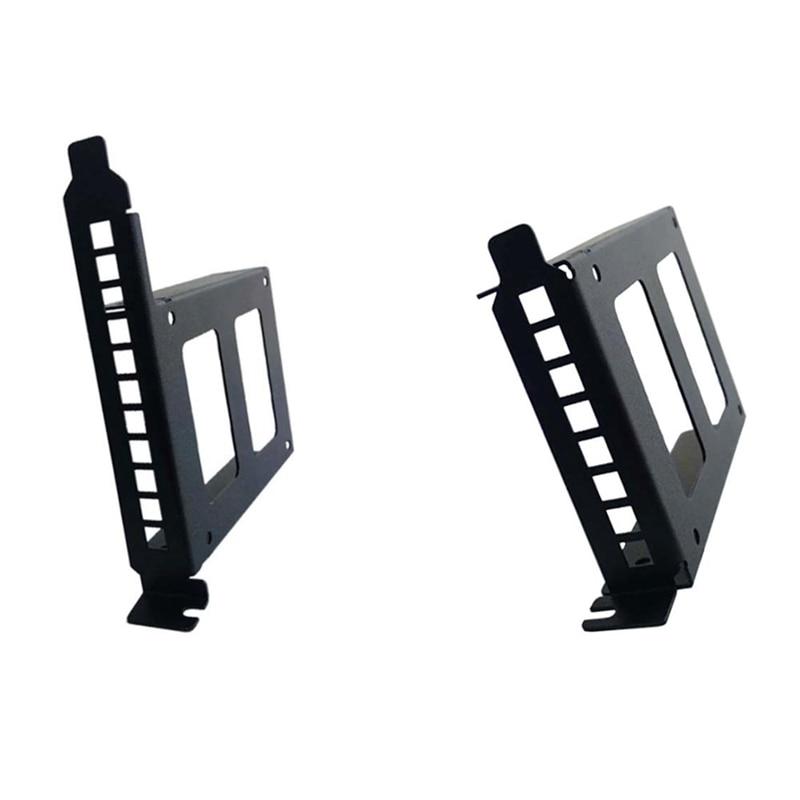 PCI Slot 2.5Inch IDE/SATA/SSD/HDD Rear Panel Mount Bracket Hard Drive Adapter Tray with Profile Bracket