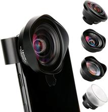 Ulanzi 10X מאקרו רחב זווית עדשת ערכת טלה Fisheye טלפון מצלמה עדשה עבור iPhone 11 פרו מקס סמסונג S10 בתוספת huawei P30 פרו