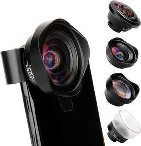Image 1 - Ulanzi 10X Macro Wide Angle Lens Kit Telephoto Fisheye Phone Camera Lens for iPhone 11 Pro Max Samsung S10 Plus Huawei P30 Pro