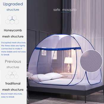 Pop-up mosquito net for tent 2