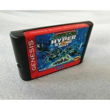 THE TURTLES HYPER STONE HEIST cartucho de juegos MD de 16 bits para consola MegaDrive Genesis