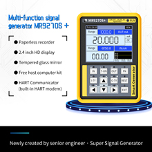 MR9270S+ 4 20mA signal generator transmitter thermal resistance thermocouple paperless recorder