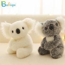 1pc 13/17cm mignon Simulation Koala ours en peluche Mini australie aventure Koala poupée pour enfants en peluche Kawaii cadeau d'anniversaire