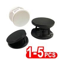 Soporte de escritorio móvil plegable Universal, soporte de teléfono inteligente con agarre automático, de bolsillo, 5 uds.
