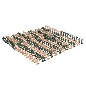 1:72 Scale Plastic Soldiers Figurine Army Figures Sand Table Model Accessory