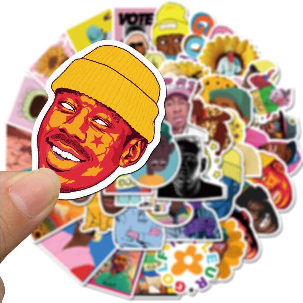 10/50 adet rapçi Tyler en yaratıcı su geçirmez kırtasiye Sticker PVC kaykay bavul bagaj Laptop çıkartmaları çocuk oyuncak etiket