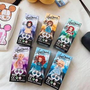 Image 3 - 6 teile/satz Prinzessin Puppe Schnee Weiß Meerjungfrau Lange Haar Prinzessin Glocke Spielzeug Puppen für kinder Geburtstag Geschenke Auf Lager