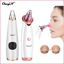 Electric Blackhead Remover Face Acne Pore Vacuum Suction Black Head Remover Microdermabrasion Facial Cleaner Pimple Extrator 45