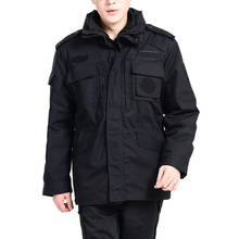 Winter Security Training Twill Coat Jackets Multi-functional Clothes Thickening Duty Service Overalls Working Labor Clothing 135