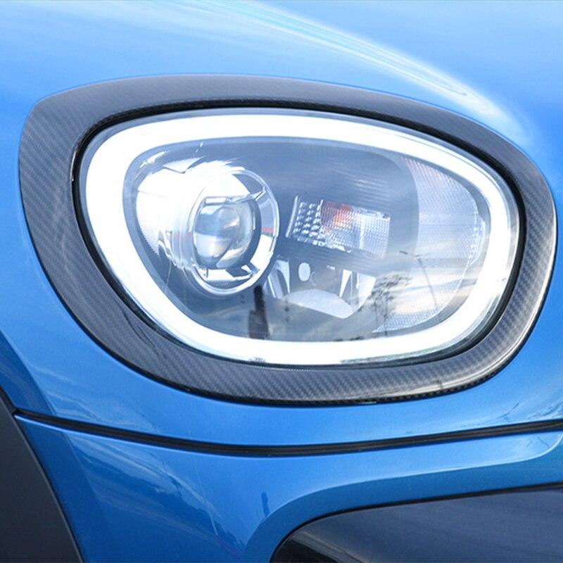 Автомобильная фара из углеродного волокна декоративная рамка Taillght наклейка для BMW MINI Cooper S F54 F55 F56 F57 F60 аксессуары для стайлинга автомобилей - 4