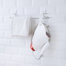 Hair Dryer Storage Rack Bathroom Organizer Rack Creative Hanging Hook Bathroom Accessories Hair Dryer Holder