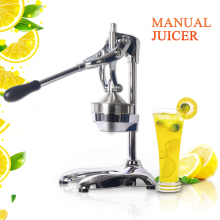 купить Commercial Household Stainless Steel Manual Hand Press Citrus Juicer Squeezer Citrus Lemon Orange Fruit Juice Extractor дешево