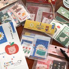 40 unidades/pacote adesivos bonitos para telefone deco japonês artigos de papelaria suprimentos bala diário scrapbooking etiqueta adesivos kawaii estética