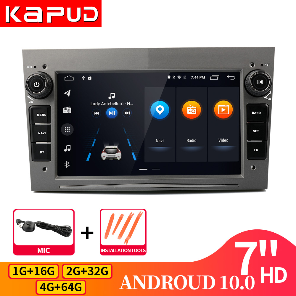 Kapud Android 10 For Opel GPS Multimedia Car Radio Video Player Navigation 7
