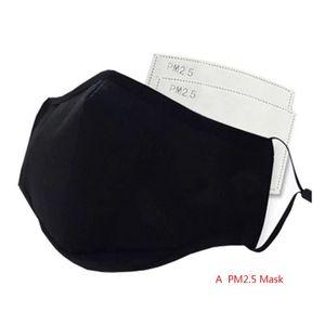 Анти загрязнения маски для лица для защиты от гриппа PM2.5 черная маска для рта дышащая моющаяся хлопковая Пыленепроницаемая маска для рта со ...