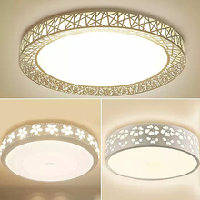 LED Ceiling Light for Bedroom Living Room Study Iron Yakli Circular Ceiling Lightn Round Ceiling Light simple decoration personalized balloon led ceiling light living room bedroom round cartoon children light room cl
