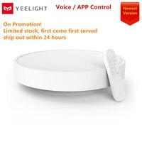 Yeelight-lámpara de techo inteligente mi app 2021, Control remoto por Bluetooth, WIFI, LED a Color, a prueba de polvo, IP60