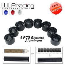 """Envío Gratis 8 X taza de almacenamiento de aluminio filtro de combustible para NAPA 4003 WIX 24003 OD 1,76 """"ID 1,57"""""""