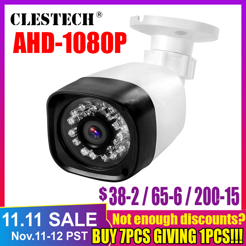 720P 960P1080P AHD Outdoor IP66 Camera Bullet CCTV Security IR-CUT Analog BNC