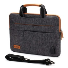 Multi-Functional Laptop Sleeve Business Briefcase Messenger Bag with USB Charging Port For 11 13 14 15.6 17.3 Inch Laptop bag